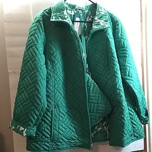 NWT . SUSAN GRAVER PACKABLE JACKET